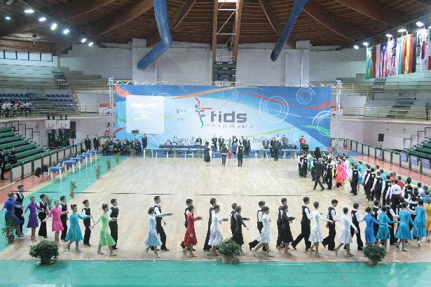 Campionato regionale Danze a Squadre, Caraibiche e Nazionali