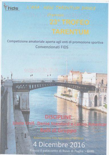23° Trofeo Tarentum
