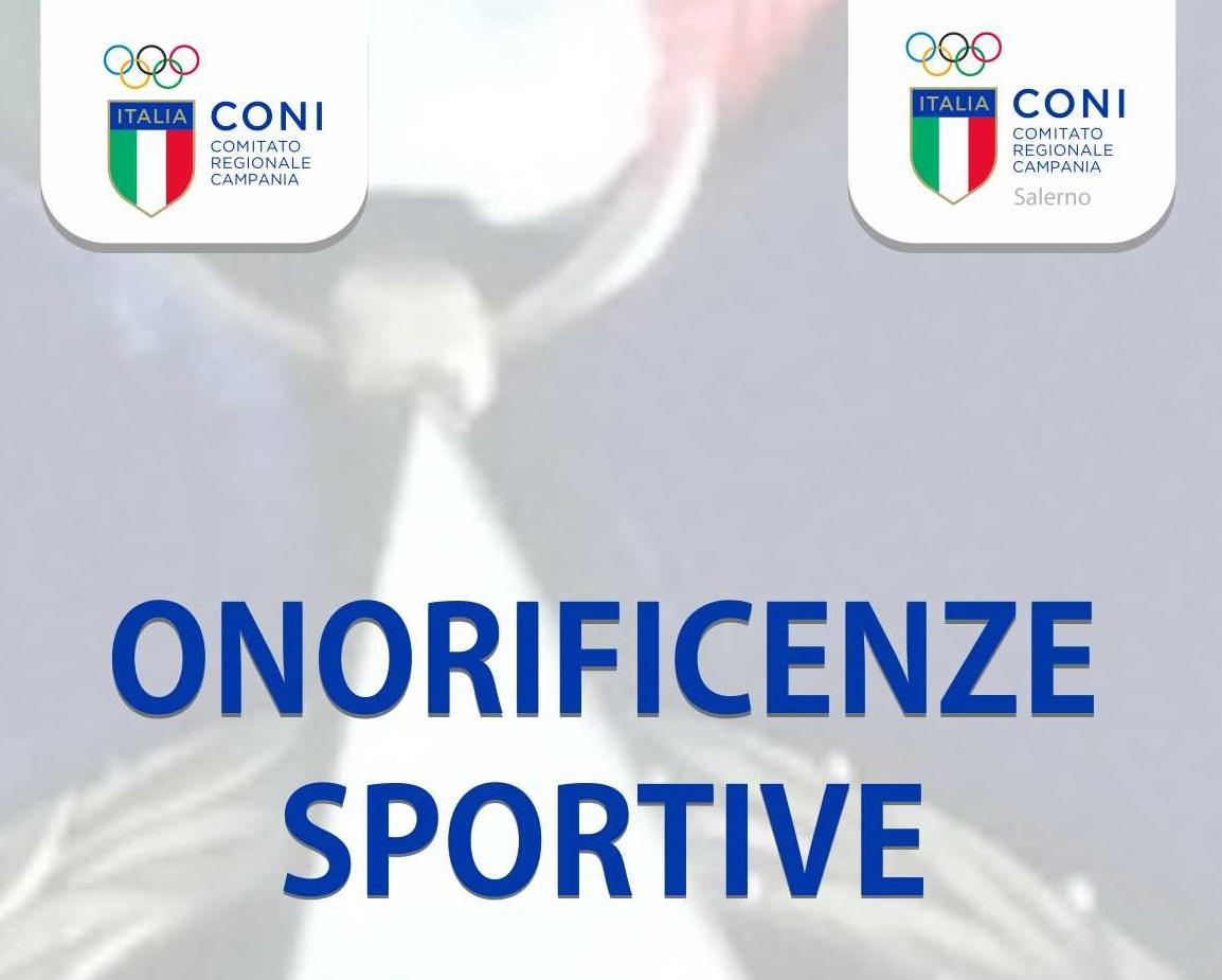 Onorificenze Sportive Anno 2016