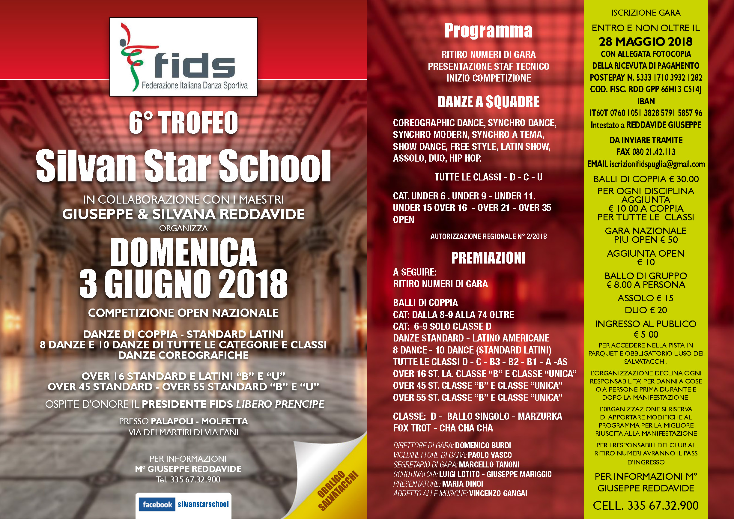 6° Trofeo Silvan Star School
